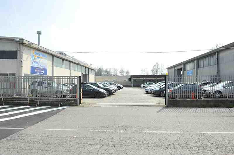 Express Parking parcheggio Linate ingresso