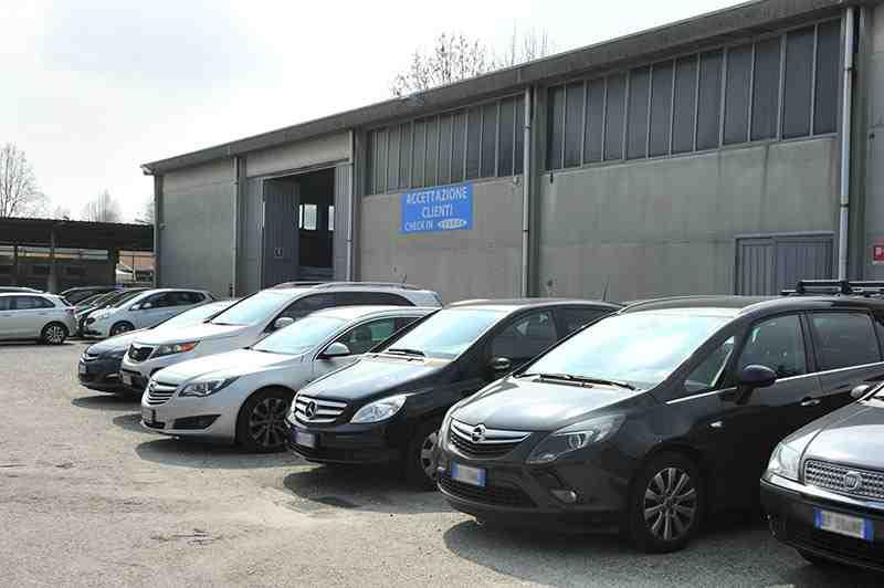 Express Parking parcheggio Linate accettazione
